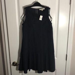 Left NWT Navy Blue Dress